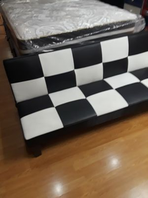 New leather futon bed for Sale in Santa Monica, CA