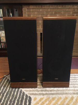 "Bluetooth 3-way 12"" floor standing speakers AMPLIFIED - No receiver needed! Make an offer! for Sale in Chicago, IL"
