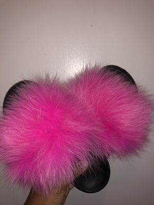 Fur Slippers for Sale in Houston, TX