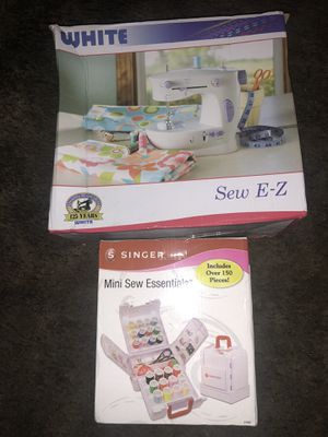 Sewing Machine & Material (BEST OFFER) for Sale in Bartow, FL