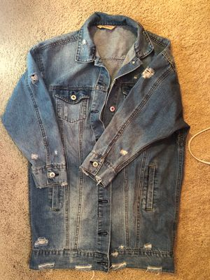 Highway Jeans Distressed Denim Jacket for Sale in Metamora, IL
