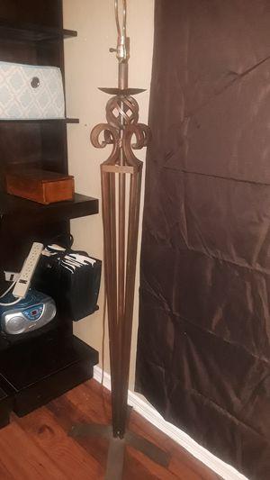 Iron floor lamp for Sale in Arlington, TX