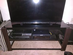 Tempered Glass TV Stand for Sale in Portland, OR