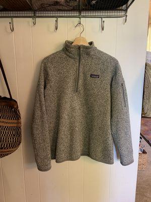 Women's Patagonia sweater 1/4 zip for Sale in Kirkland, WA