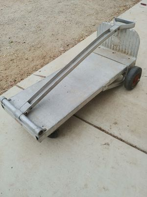 Vintage aluminium dolly cart for Sale in Lake Elsinore, CA