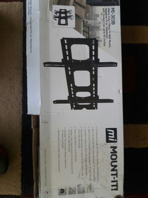 Tv. Wall mount. 32 to 65 inches. New in box. for Sale in Salt Lake City, UT