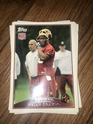 Football card Brian orakpo rookie card Washington Redskins for Sale in Colorado Springs, CO