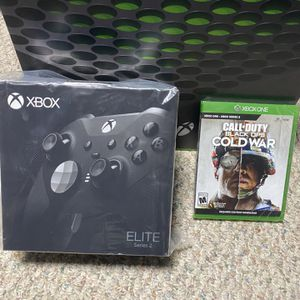 Xbox X Bundle With Elite Controller And COD for Sale in Sterling Heights, MI