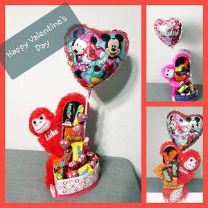 Valentine's Day Monkey Gift Set for Sale in Gibsonton, FL