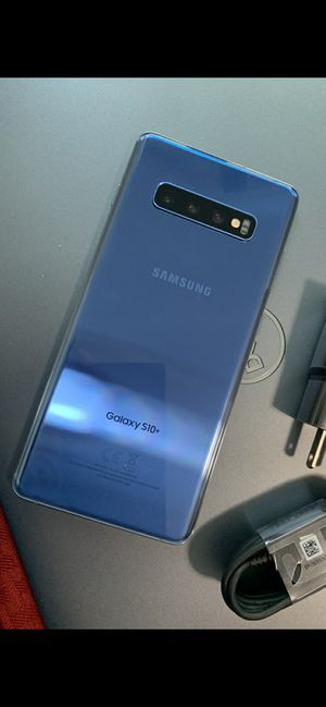 Samsung Galaxy S10 plus (S10+) - excellent condition, factory unlocked, clean IMEI for Sale in Springfield, VA