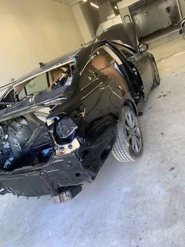 Body work and paint