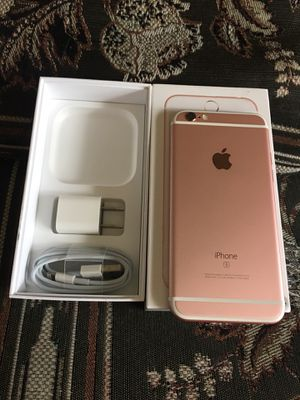 iphone 6s 32 gb unlocked like new no scratches nice and clean it was t- mobile but they unlock for Sale in Lanham, MD