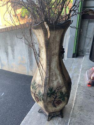 Metal Floor Vase 🏺 for Sale in Snellville, GA
