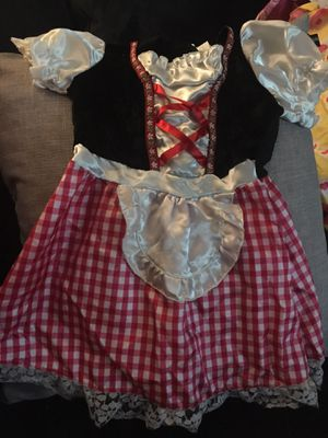 Girls Little Red Riding Hood Costume for Sale in South Gate, CA