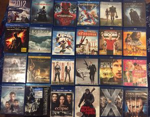 Blu-Ray Movies $4 each or 3 for $10 for Sale in Beckley, WV