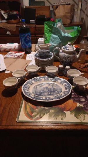 Victoria aged historical ports of England handcrafted China for Sale in Baltimore, MD