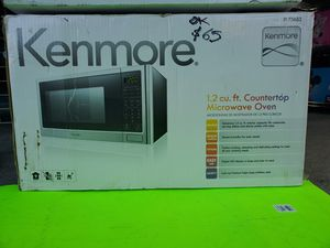 Microwave oven 1.2 cu ft.new only open box .firme price for Sale in East Los Angeles, CA