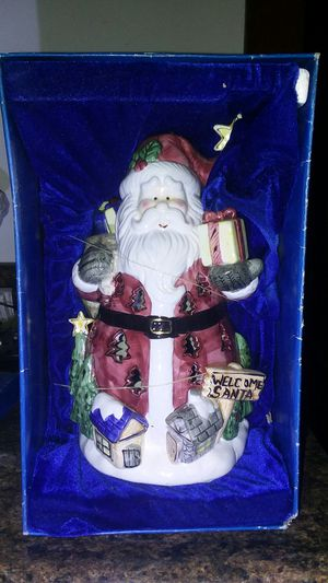 Classic Santa Claus candle/tea light holder. for Sale in Florissant, MO