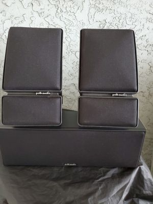 POLK AUDIO SPEAKERS for Sale in Sunnyvale, CA