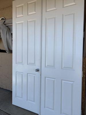 95x 60 indoor french Doors for Sale in Norco, CA