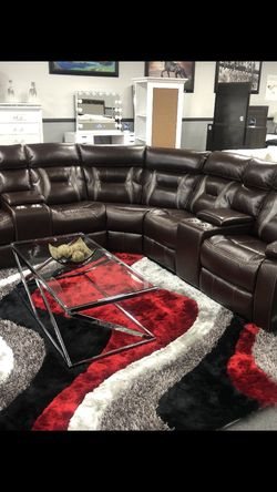 Brown Leather Couches for Sale in Fresno,  CA