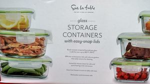 Storage container 20 -piece glass for Sale in Daly City, CA