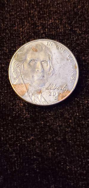 Rare 2012 D Jefferson Nickel for Sale in N REDNGTN BCH, FL