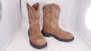 ARIAT 10008634 COMPOSITE TOE WOMAN WESTERN RANCHER WORK BOOTS SIZE 9/40 for Sale in Las Vegas, NV