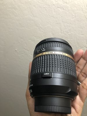 Tamron 18-270mm lens for nikon for Sale in Sunnyvale, CA