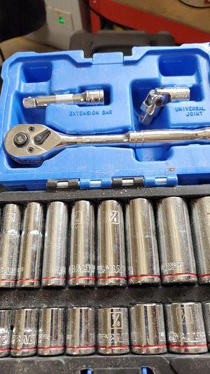 Kobalt 19pc ratchet set for Sale in Colorado Springs, CO