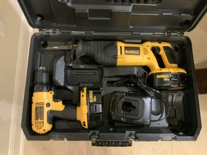 DeWALT tools with case for Sale in Leander, TX