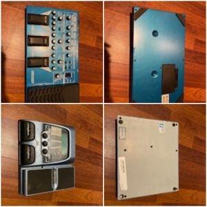 Guitar filters DISTORTION effects pedals all for $225 AS IS NO CORDS for Sale in Clovis, CA