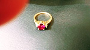 14 Karat Gold Amethyst/Diamond Ring for Sale in Antioch, CA