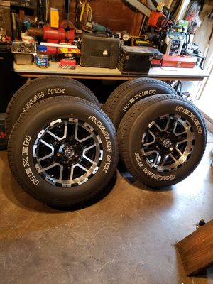 4 new Nexen tires & rims with all recipes & warranties for Sale in Franklin, IN