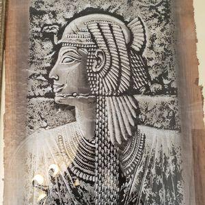 OLD EGYPTIAN Pharaon ART frame for Sale in Brooklyn, NY