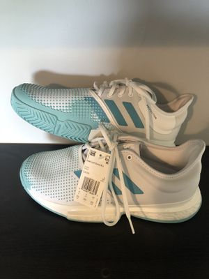 Adidas SoleCourt Boost Blue/White Size 8.5 for Sale in Gardner, KS