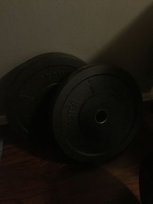 Weight bar and weights for Sale in Covina, CA