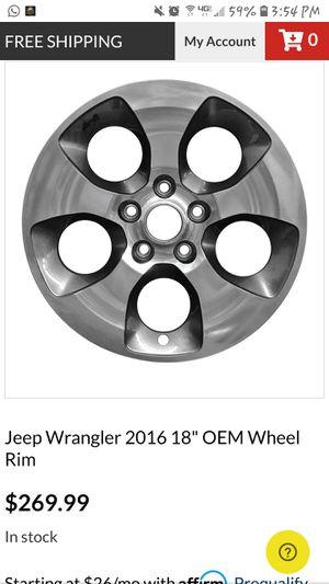 2018 Jeep wrangler OEM wheels for Sale in Bremerton, WA