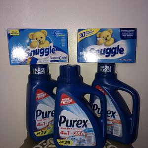 Laundry Detergent Bundle for Sale in Westerville, OH
