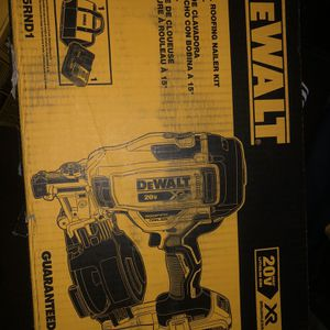 Dewalt Roofing Gun Battery Powered for Sale in Providence, RI