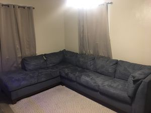 2PC Sectional Couch for Sale in Norfolk, VA