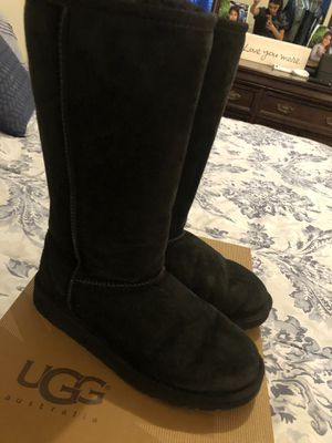 Black Ugg Boots for Sale in Bakersfield, CA