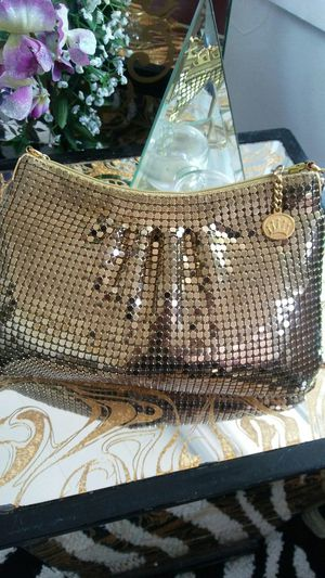 Heavy Gold Mesh Evening Bag for Sale in Virginia Beach, VA