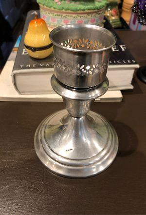 Silver Candle holder for Sale in Santa Rosa, CA
