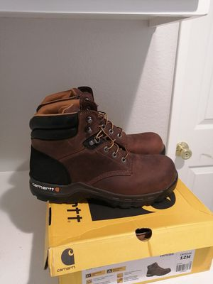 Brand new carhartt work boots for men. Size 12. Composite toe for Sale in Riverside, CA