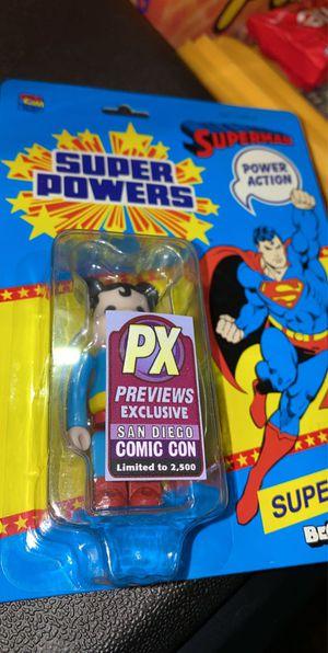 Medicom SDCC PX 2013 Comic Con Super Powers Superman Bearbrick Medicom toys for Sale in Las Vegas, NV