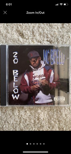 MC Breed 20 Below CD for Sale in Fresno, CA