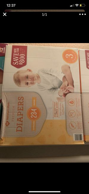Diapers size 3 for Sale in Waxahachie, TX