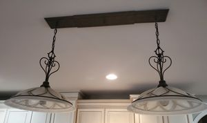 Two light ceiling pendant for Sale in Canton, MI