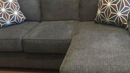 ☀️Ashley Dark Gray Beauteous Soft Sofa Chaise💰Apply Financing Online for Sale in Grand Prairie,  TX